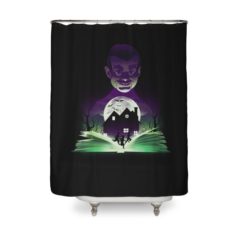 Book of Night Terror Home Shower Curtain by dandingeroz's Artist Shop