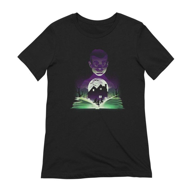 Book of Night Terror Women's T-Shirt by dandingeroz's Artist Shop