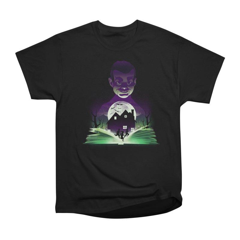 Book of Night Terror Men's T-Shirt by dandingeroz's Artist Shop