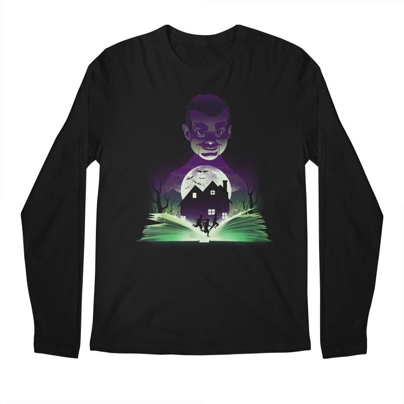 Book of Night Terror Men's Longsleeve T-Shirt by dandingeroz's Artist Shop