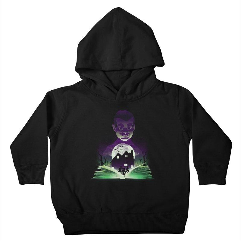 Book of Night Terror Kids Toddler Pullover Hoody by dandingeroz's Artist Shop