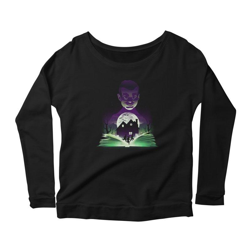 Book of Night Terror Women's Longsleeve T-Shirt by dandingeroz's Artist Shop