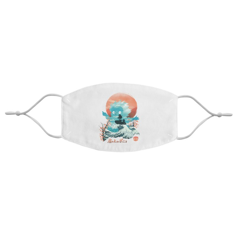 Ukiyo e Ponyo Accessories Face Mask by dandingeroz's Artist Shop