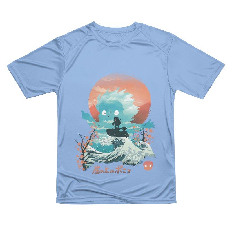 Ukiyo e Ponyo Men's T-Shirt by dandingeroz's Artist Shop