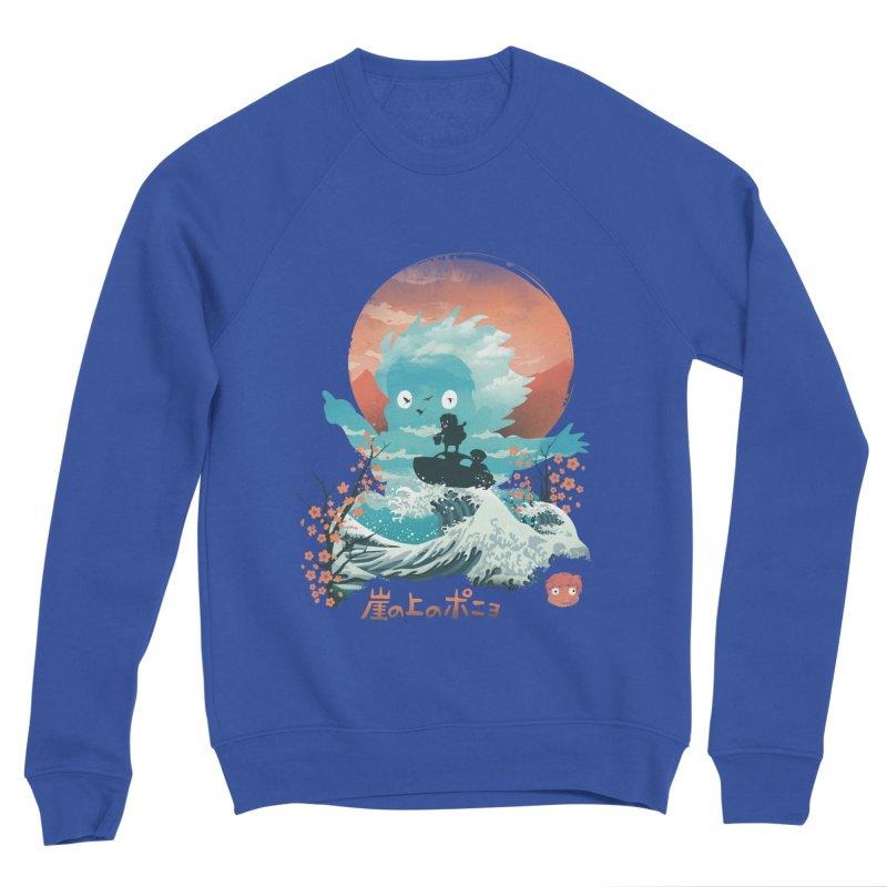 Ukiyo e Ponyo Men's Sweatshirt by dandingeroz's Artist Shop