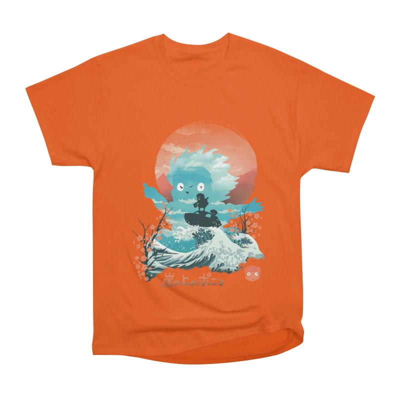 Ukiyo e Ponyo Men's T-Shirt by dandingeroz's Artist Shop