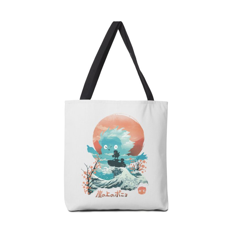 Ukiyo e Ponyo Accessories Bag by dandingeroz's Artist Shop