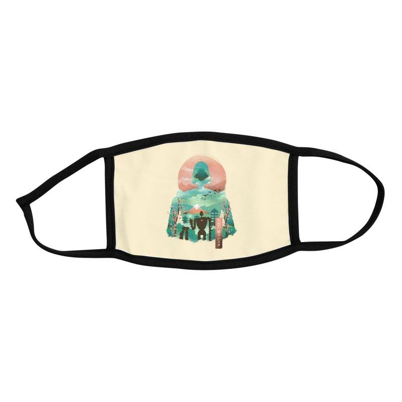 Ukiyo E Sky Castle Accessories Face Mask by dandingeroz's Artist Shop