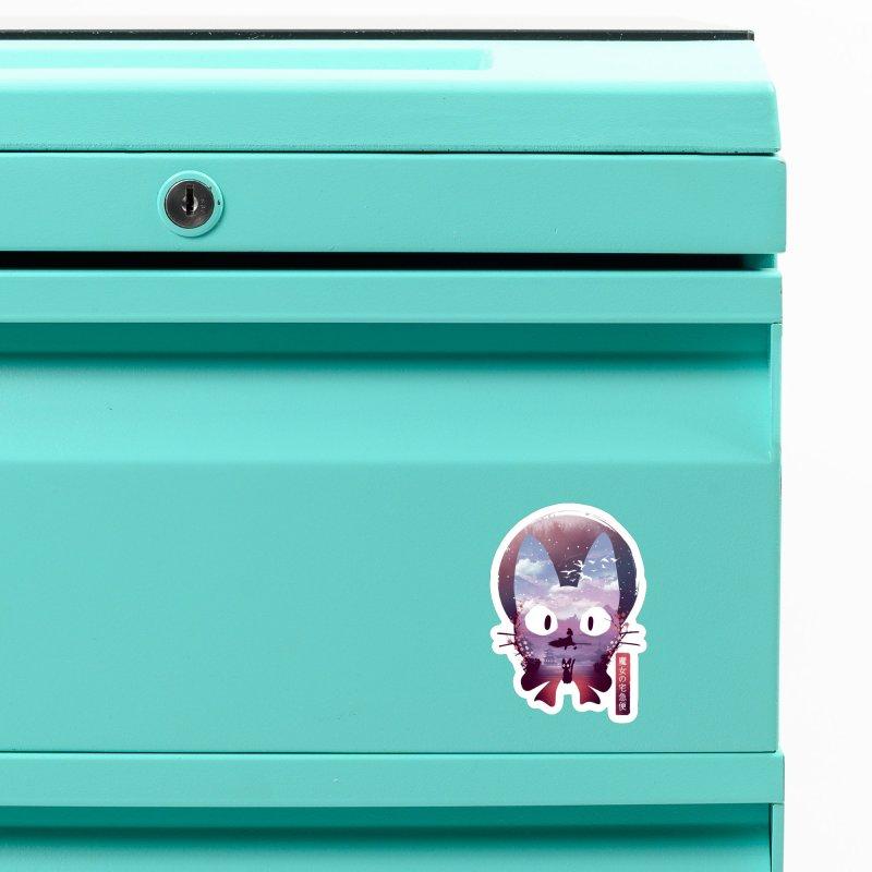 Ukiyo E Midnight Delivery Accessories Magnet by dandingeroz's Artist Shop