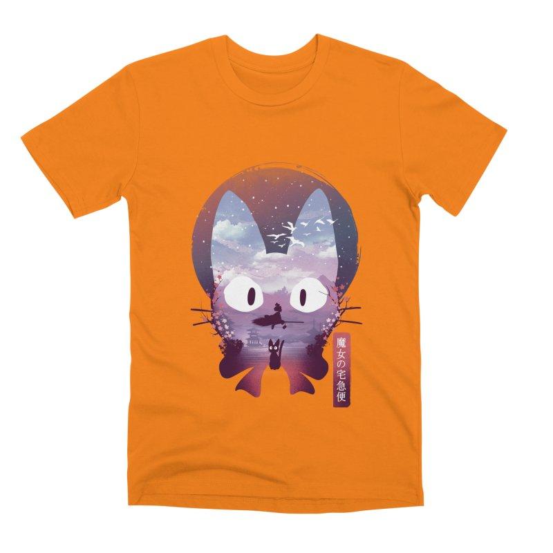 Ukiyo E Midnight Delivery Men's T-Shirt by dandingeroz's Artist Shop