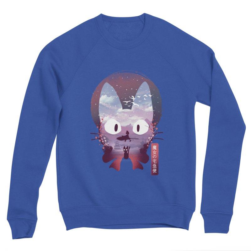 Ukiyo E Midnight Delivery Men's Sweatshirt by dandingeroz's Artist Shop