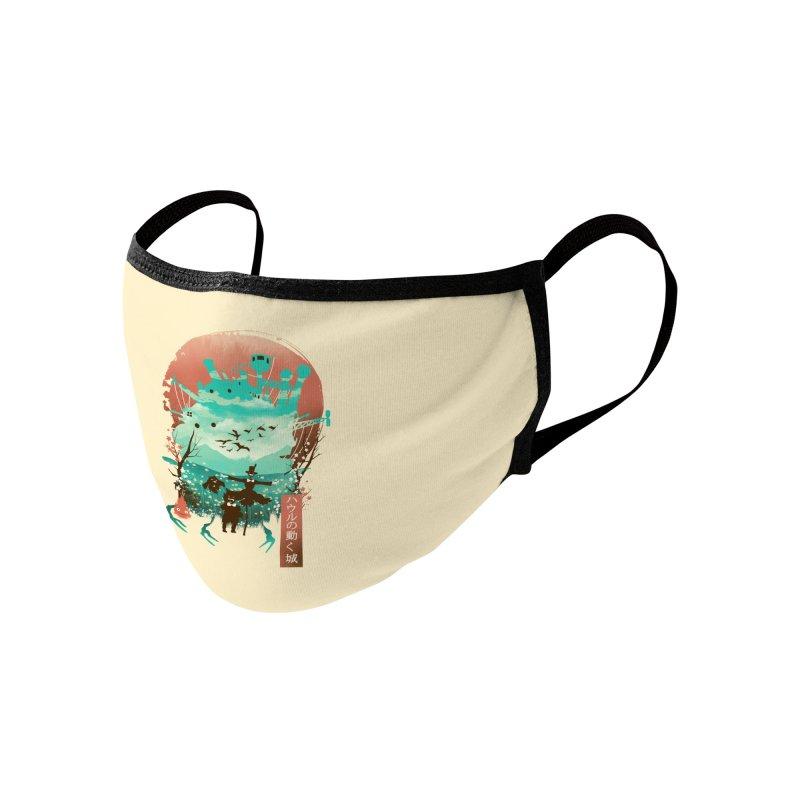 Ukiyo E Moving Castle Accessories Face Mask by dandingeroz's Artist Shop