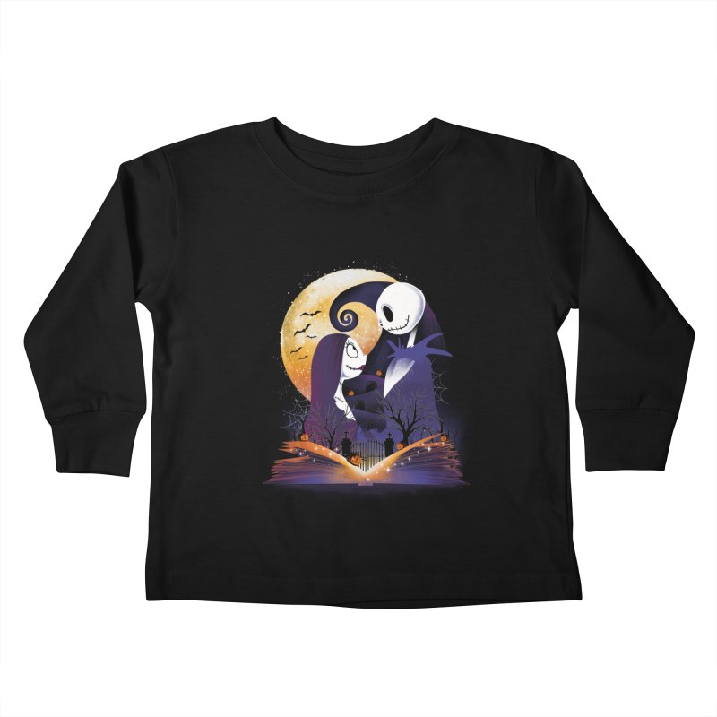 Book of Nightmare Kids Toddler Longsleeve T-Shirt by dandingeroz's Artist Shop