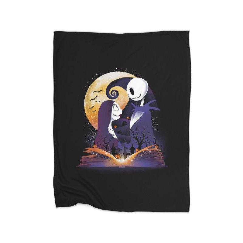 Book of Nightmare Home Blanket by dandingeroz's Artist Shop