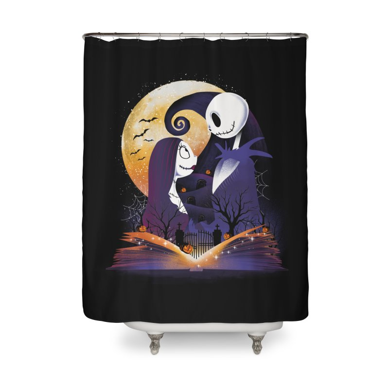 Book of Nightmare Home Shower Curtain by dandingeroz's Artist Shop