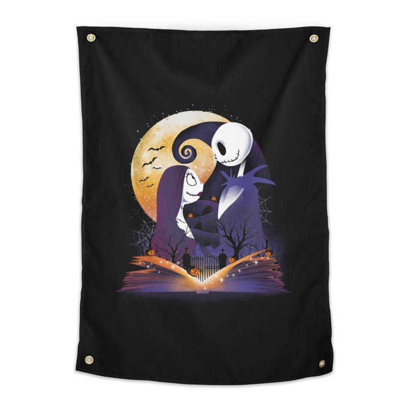 Book of Nightmare Home Tapestry by dandingeroz's Artist Shop