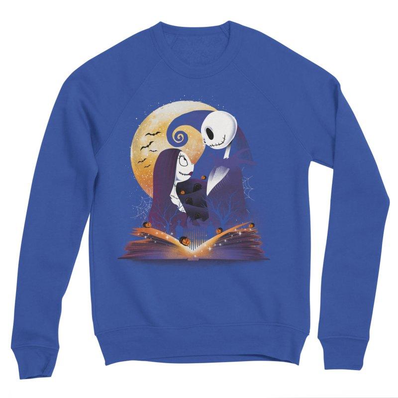 Book of Nightmare Men's Sweatshirt by dandingeroz's Artist Shop