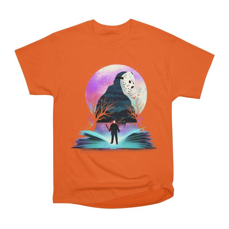 Book of Friday Night Terror Men's T-Shirt by dandingeroz's Artist Shop