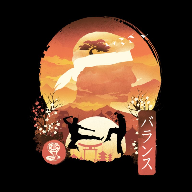 Miyagi-Do Sunset Men's T-Shirt by dandingeroz's Artist Shop