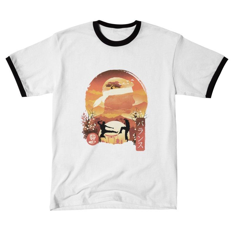 Miyagi-Do Sunset Men's T-Shirt by dandingeroz's Artist Shop