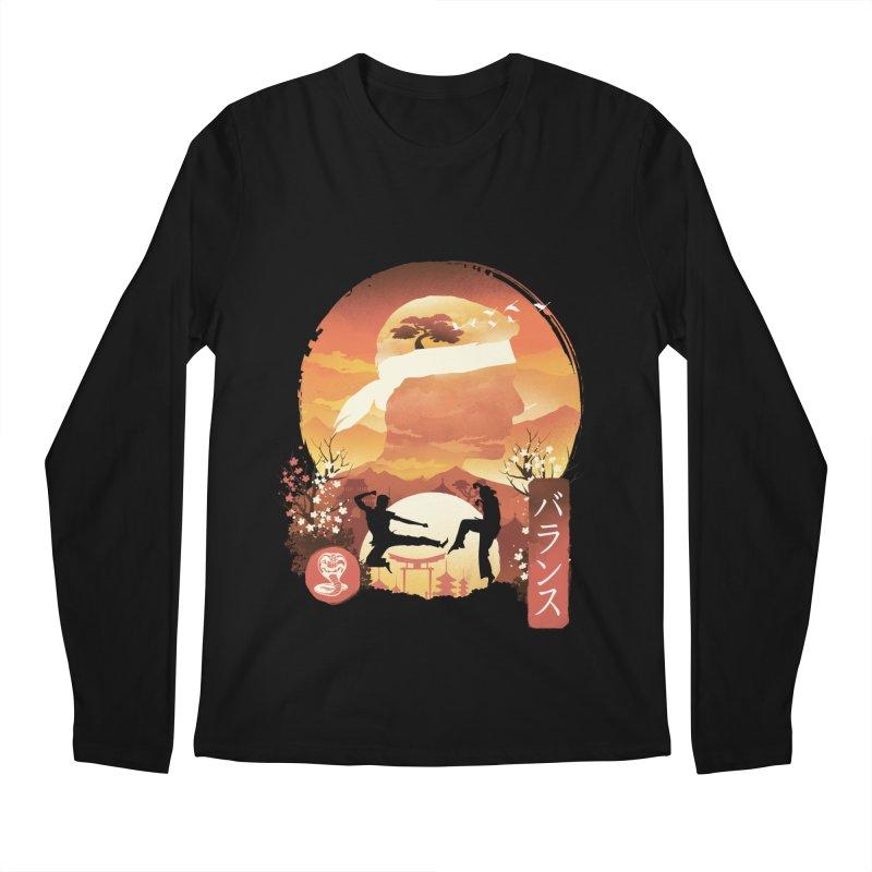 Miyagi-Do Sunset Men's Longsleeve T-Shirt by dandingeroz's Artist Shop