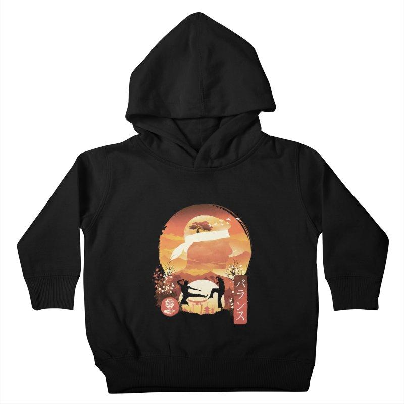 Miyagi-Do Sunset Kids Toddler Pullover Hoody by dandingeroz's Artist Shop