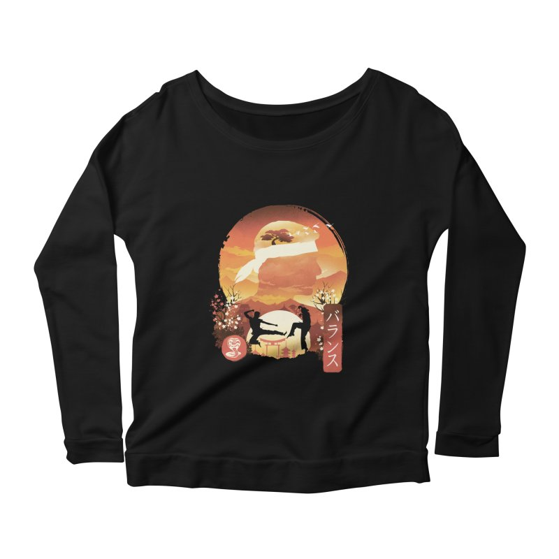 Miyagi-Do Sunset Women's Longsleeve T-Shirt by dandingeroz's Artist Shop