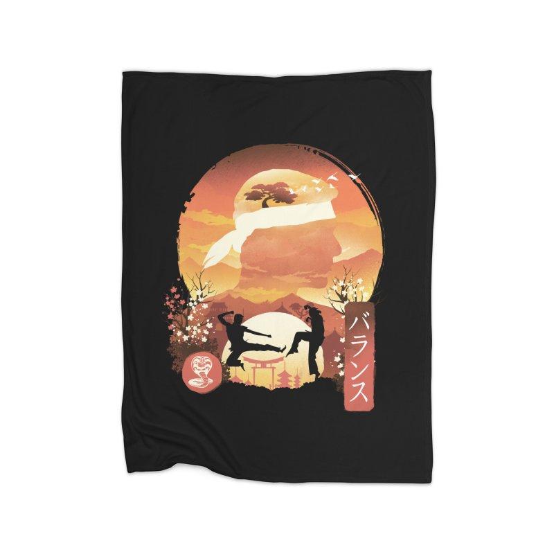 Miyagi-Do Sunset Home Blanket by dandingeroz's Artist Shop
