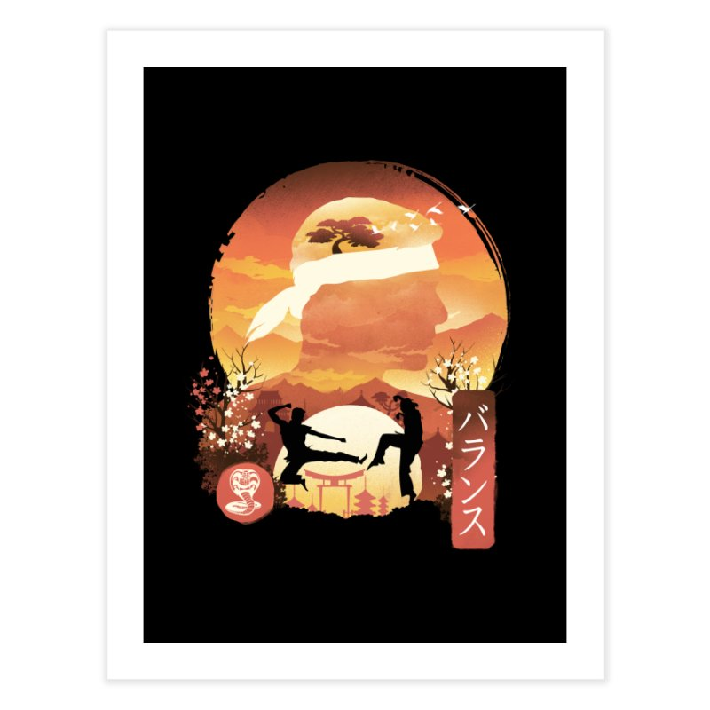 Miyagi-Do Sunset Home Fine Art Print by dandingeroz's Artist Shop