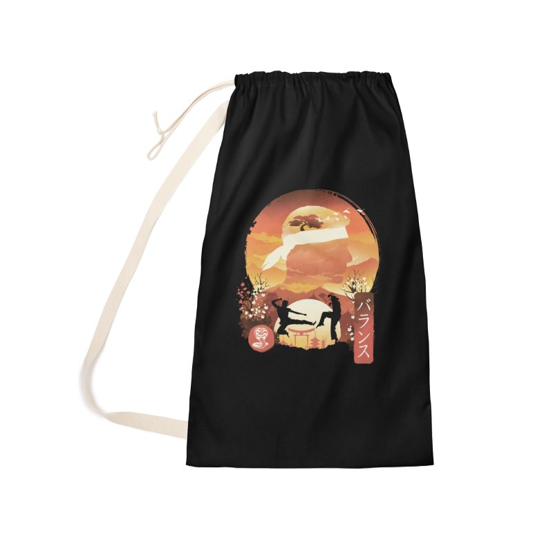 Miyagi-Do Sunset Accessories Bag by dandingeroz's Artist Shop