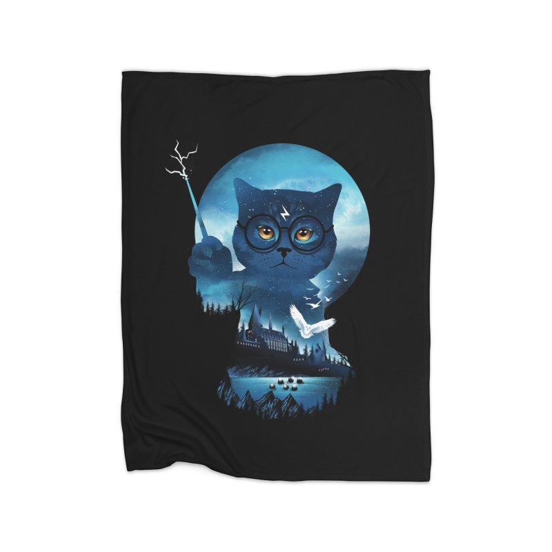 Furry Potter Home Blanket by dandingeroz's Artist Shop