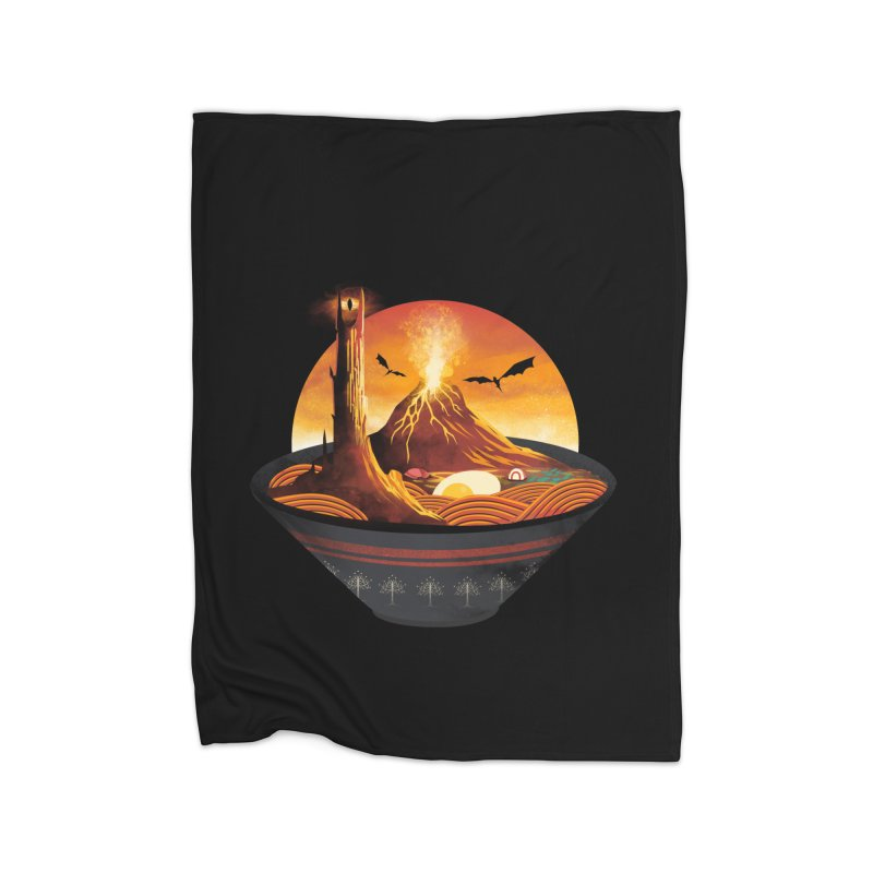 Spicy Mordor Ramen Home Blanket by dandingeroz's Artist Shop