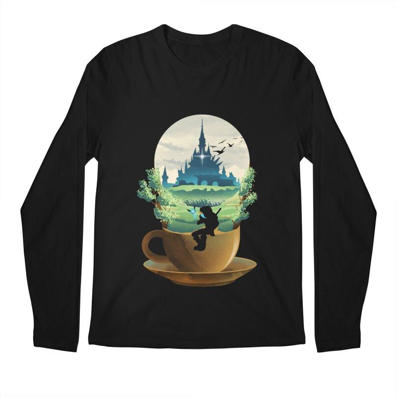 Hyrule Coffee Men's Longsleeve T-Shirt by dandingeroz's Artist Shop