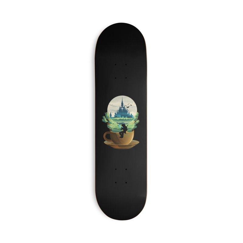 Hyrule Coffee Accessories Skateboard by dandingeroz's Artist Shop