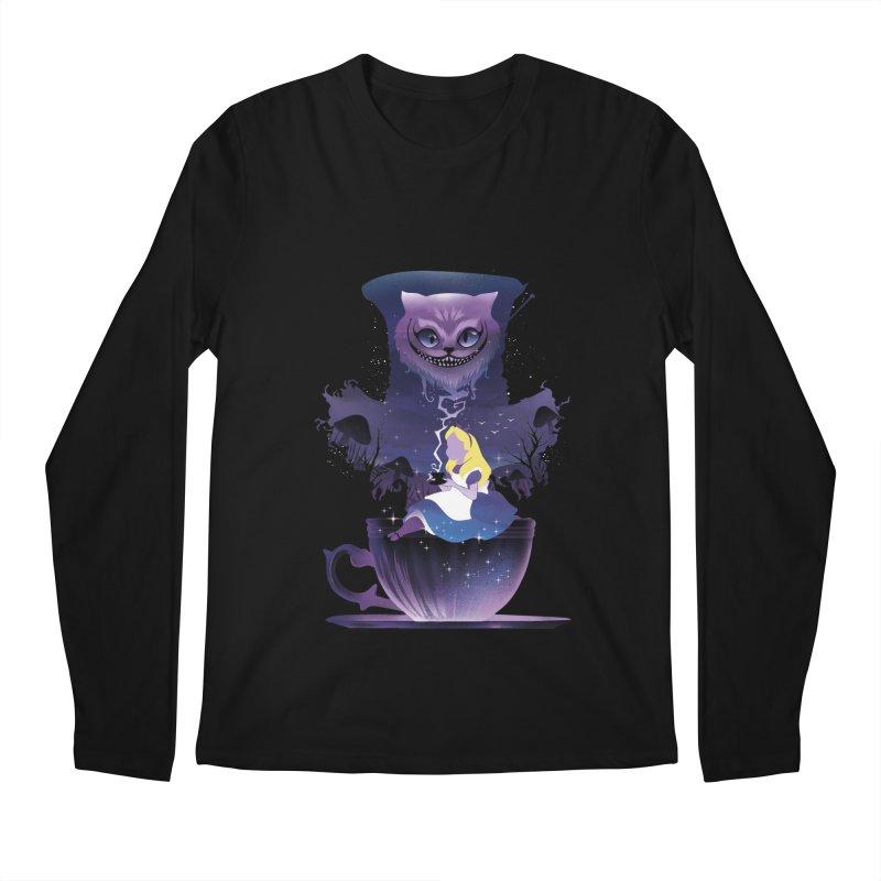 Midnight Tea Party Men's Longsleeve T-Shirt by dandingeroz's Artist Shop