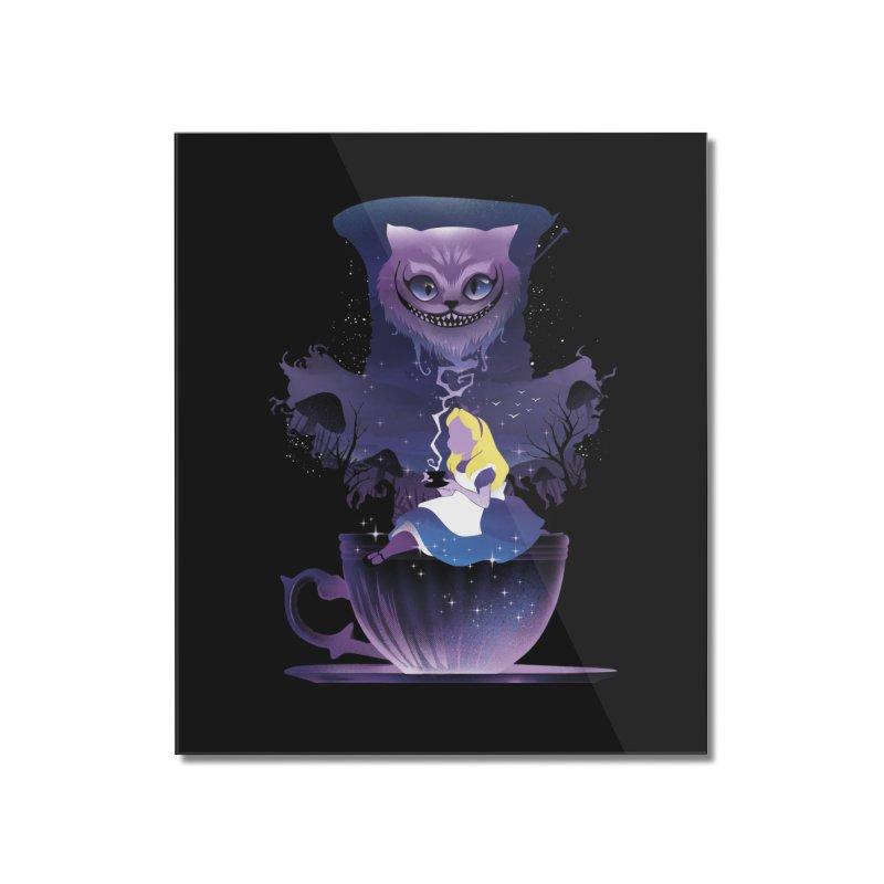 Midnight Tea Party Home Mounted Acrylic Print by dandingeroz's Artist Shop