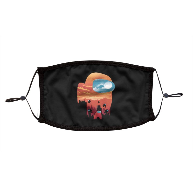 Imposter Sunset Accessories Face Mask by dandingeroz's Artist Shop