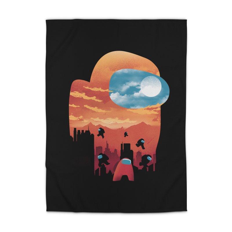 Imposter Sunset Home Rug by dandingeroz's Artist Shop