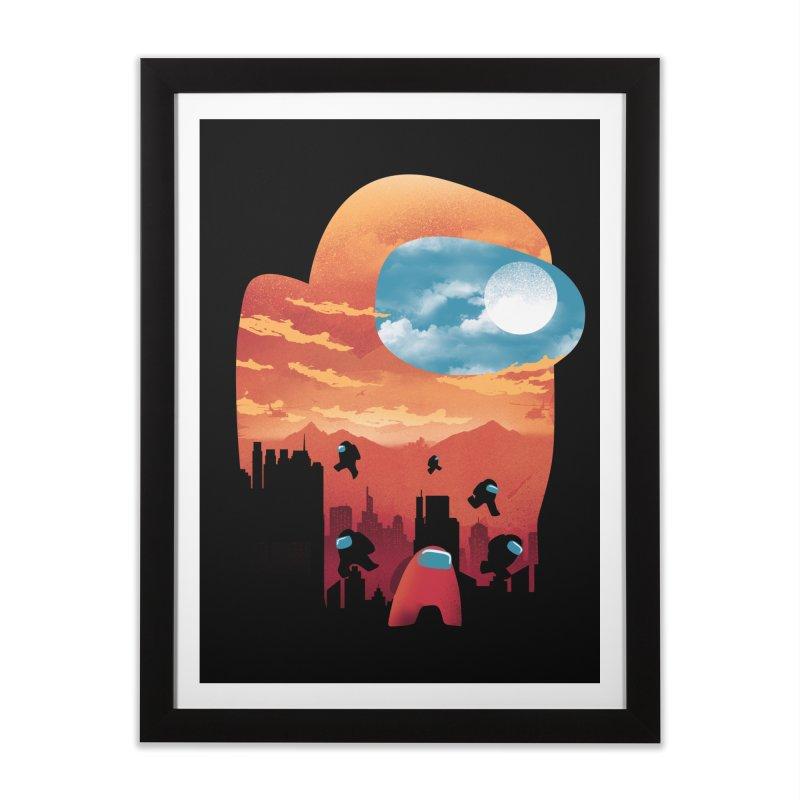 Imposter Sunset Home Framed Fine Art Print by dandingeroz's Artist Shop