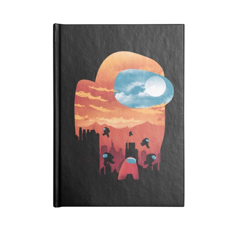 Imposter Sunset Accessories Notebook by dandingeroz's Artist Shop