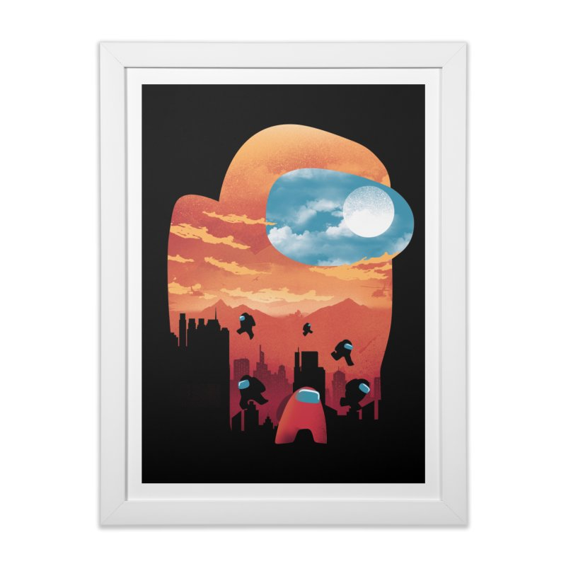 Imposter Sunset Home Framed Fine Art Print by dandingeroz's Artist Shop