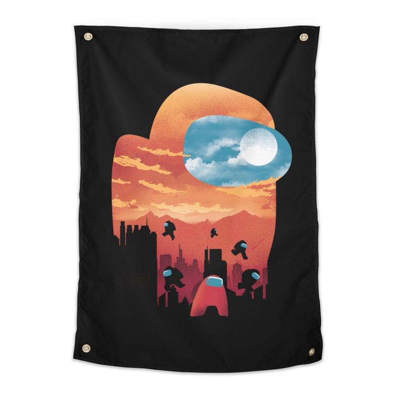 Imposter Sunset Home Tapestry by dandingeroz's Artist Shop