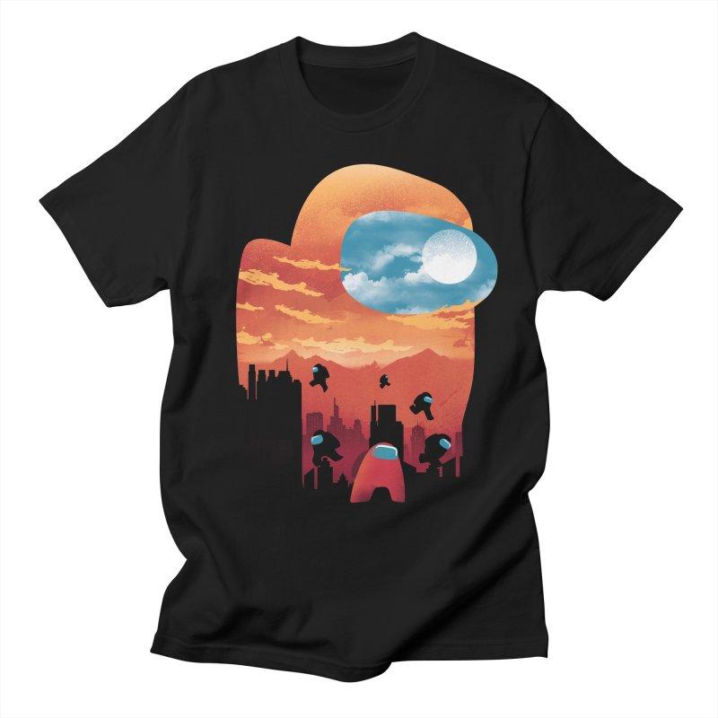 Imposter Sunset Men's T-Shirt by dandingeroz's Artist Shop