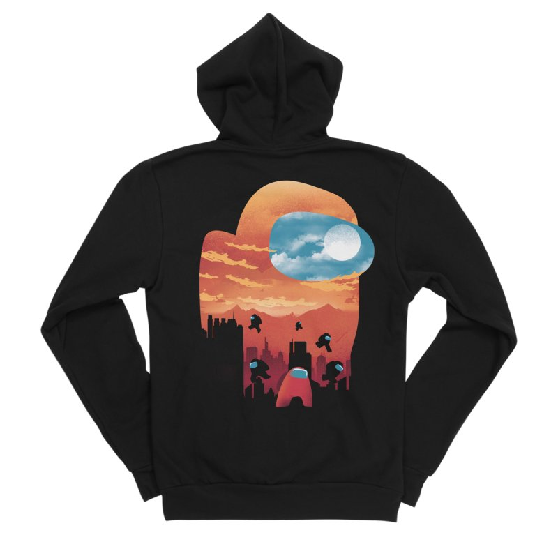 Imposter Sunset Women's Zip-Up Hoody by dandingeroz's Artist Shop