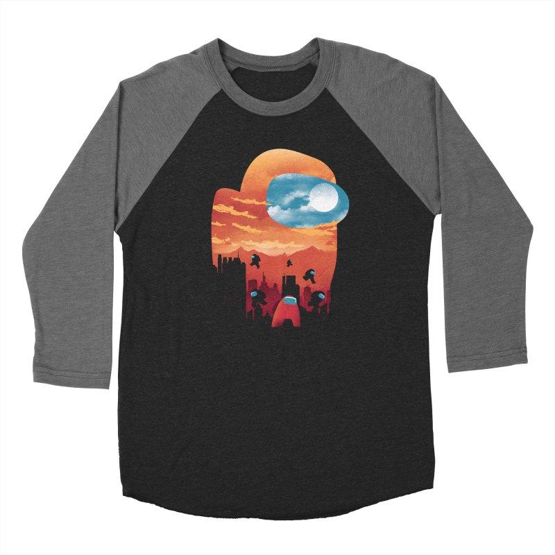 Imposter Sunset Women's Longsleeve T-Shirt by dandingeroz's Artist Shop