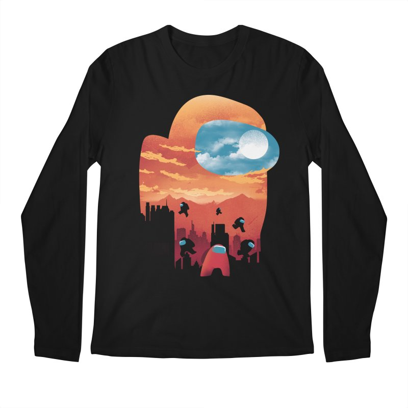 Imposter Sunset Men's Longsleeve T-Shirt by dandingeroz's Artist Shop