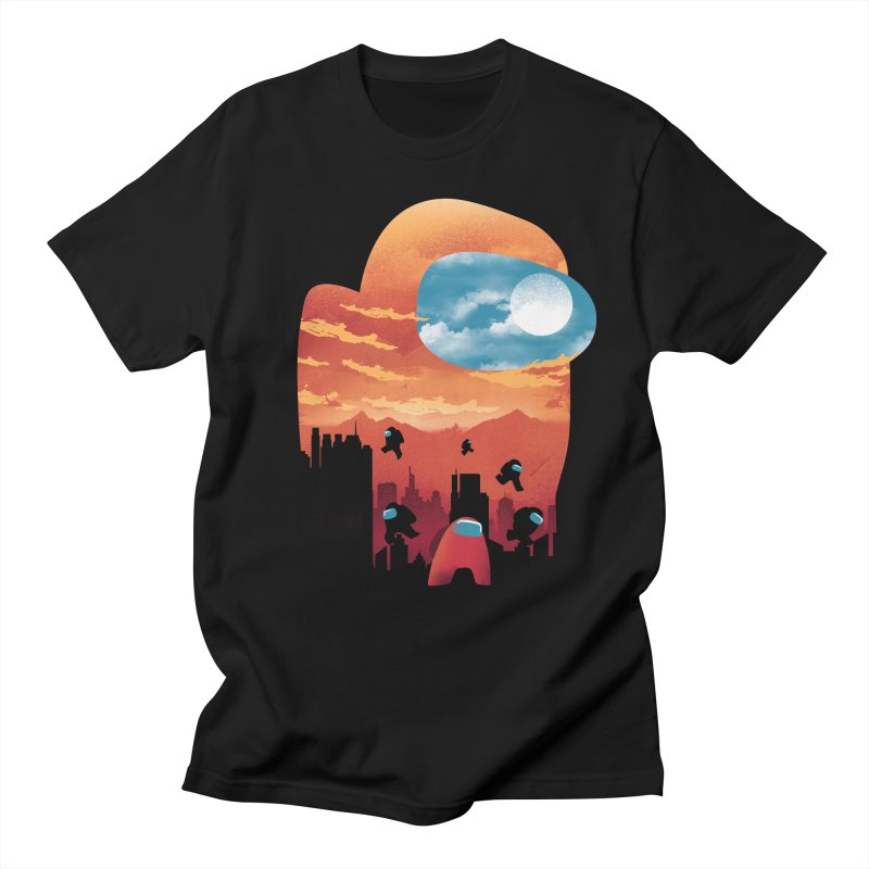 Imposter Sunset Men's T-Shirt by dandingeroz's Artist Shop