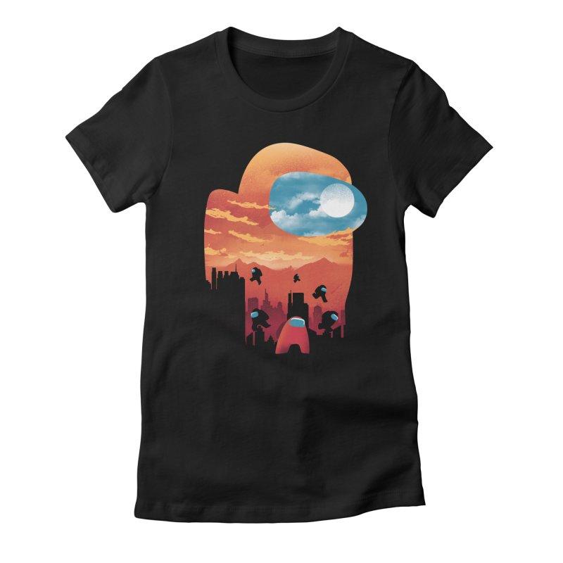 Imposter Sunset Women's T-Shirt by dandingeroz's Artist Shop