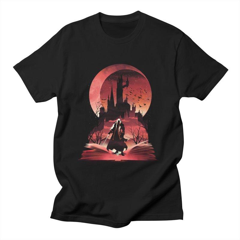 Book of Dracula Men's T-Shirt by dandingeroz's Artist Shop