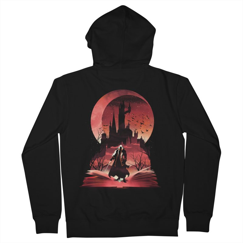 Book of Dracula Women's Zip-Up Hoody by dandingeroz's Artist Shop